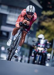 06.07.2019, Wels, AUT, Ö-Tour, Österreich Radrundfahrt, Prolog, Einzelzeitfahren (2,5 km), im Bild Stefan Kolb (Maloja Pushbikers, AUT) // during the prolog, Individual time trial (2,5 Km) of the 2019 Tour of Austria. Wels, Austria on 2019/07/06. EXPA Pictures © 2019, PhotoCredit: EXPA/ JFK