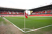 Nottingham Forest's City Ground ahead of the Sky Bet Championship match between Nottingham Forest and Bristol City at the City Ground, Nottingham, England on 27 February 2016. Photo by Jon Hobley.