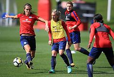 England Women Training Session - 12 September 2017
