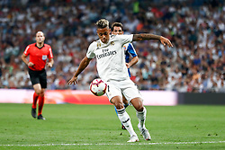 September 22, 2018 - Mariano of Real Madrid during the La Liga (Spanish Championship) football match between Real Madrid and RCD Espanyol on September 22th, 2018 at Santiago Bernabeu stadium in Madrid, Spain. (Credit Image: © AFP7 via ZUMA Wire)