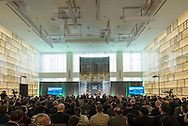 The Wall Street Journal 2016 GLOBAL FOOD FORUM in New York City on October 6, 2016. (photo by Gabe Palacio)