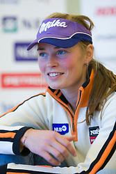 Tina Maze of Slovenian Alpine Ski Team before new season 2008/2009, on Septembra 25, 2008, Ljubljana, Slovenia. (Photo by Vid Ponikvar / Sportal Images)