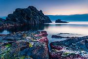 Calm dawn by the seacoast