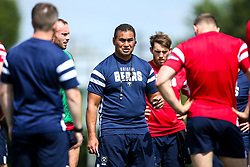 Director of Rugby Pat Lam looks on as Bristol Bears train and prepare for the 2018/19 Gallagher Premiership Rugby Season - Mandatory by-line: Robbie Stephenson/JMP - 16/07/2018 - RUGBY - Clifton Rugby Club - Bristol, England - Bristol Bears Training