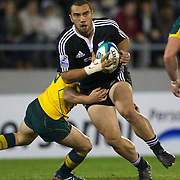 Charlie Ngatai, New Zealand, in action during the Australia V New Zealand Final match at the IRB Junior World Championships in Argentina. New Zealand won the match 62-17 at Estadio El Coloso del Parque, Rosario, Argentina,. 21st June 2010. Photo Tim Clayton...
