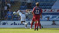 Fotball<br /> 07.08.2004<br /> Foto: SBI/Digitalsport<br /> NORWAY ONLY<br /> <br /> Date: 07/08/2004.<br /> Crystal Palace v Sampdoria<br /> Pre season friendly<br /> 07/08/2004<br /> <br /> Julian Speroni saves from close range from Fabio Bazzani