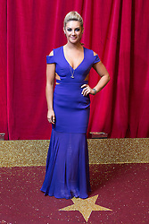 © Licensed to London News Pictures . 16/05/2015 .  The Palace Hotel , Manchester , UK . Isabel Hodgins . The red carpet at the 2015 British Soap Awards , The Palace Hotel , Oxford Road , Manchester . Photo credit : Joel Goodman/LNP