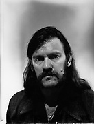 Lemmy, Shoreditch, London c1983