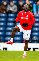 Stoke City's Victor Moses warms up- Photo mandatory by-line: Matt McNulty/JMP - Mobile: 07966 386802 - 14/02/2015 - SPORT - Football - Blackburn - Ewood Park - Blackburn Rovers v Stoke City - FA Cup - Fifth Round