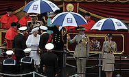 "THE QUEEN and DUKE OF EDINBURGH.Her Majesty The Queen and His Royal Highness The Duke of Edinburgh were onboard the Royal Barge..London. 03/06/2012.Mandatory Credit Photo: ©B Sutton/NEWSPIX INTERNATIONAL..**ALL FEES PAYABLE TO: ""NEWSPIX INTERNATIONAL""**..IMMEDIATE CONFIRMATION OF USAGE REQUIRED:.Newspix International, 31 Chinnery Hill, Bishop's Stortford, ENGLAND CM23 3PS.Tel:+441279 324672  ; Fax: +441279656877.Mobile:  07775681153.e-mail: info@newspixinternational.co.uk"