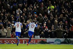 Goal, Glenn Murray of Brighton & Hove Albion scores the equaliser, Brighton & Hove Albion 1-1 Aston Villa - Mandatory by-line: Jason Brown/JMP - 18/11/2016 - FOOTBALL - Amex Stadium - Brighton, England - Brighton & Hove Albion v Aston Villa - Sky Bet Championship