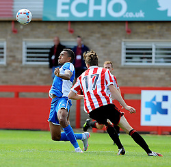 Christian Montano of Bristol Rovers - Mandatory by-line: Neil Brookman/JMP - 25/07/2015 - SPORT - FOOTBALL - Cheltenham Town,England - Whaddon Road - Cheltenham Town v Bristol Rovers - Pre-Season Friendly