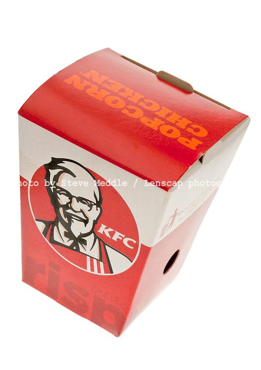 Box of KFC Popcorn Chicken - 2011