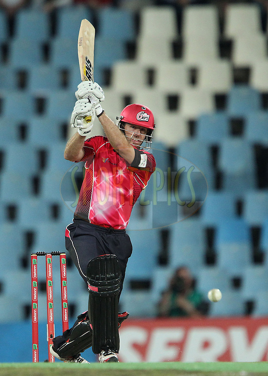 Ben Rohrer of the Sydney Sixers during the 2nd semi final of the Karbonn Smart CLT20 South Africa between The Sydney SIxers and the The Titans held at Supersport Park in Centurion, Gauteng on the 26th October 2012..Photo by Ron Gaunt/SPORTZPICS/CLT20.