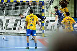 Klemen Ferlin of RK Celje Pivovarna Lasko during handball match between RK Celje Pivovarna Lasko (SLO) and of MOL Pick Szeged (HUN) in 9th Round of EHF Champions League 2019/20, on November 24, 2019 in Arena Zlatorog, Celje, Slovenia. Photo Grega Valancic / Sportida