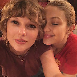"""Gigi Hadid releases a photo on Instagram with the following caption: """"a belated wish to an incredible friend, a brilliant mind, a huge heart : HAPPIEST BIRTH[week] my T @taylorswift , you know I love you beyond. You make me so proud ! \u2764\ufe0f\u2728"""". Photo Credit: Instagram *** No USA Distribution *** For Editorial Use Only *** Not to be Published in Books or Photo Books ***  Please note: Fees charged by the agency are for the agency's services only, and do not, nor are they intended to, convey to the user any ownership of Copyright or License in the material. The agency does not claim any ownership including but not limited to Copyright or License in the attached material. By publishing this material you expressly agree to indemnify and to hold the agency and its directors, shareholders and employees harmless from any loss, claims, damages, demands, expenses (including legal fees), or any causes of action or allegation against the agency arising out of or connected in any way with publication of the material."""