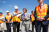 Sen. Barbara Boxer (D-CA) Visits BART Berryessa Extension Project
