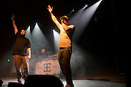 Dirtydice (Scott Nolan and Chris Christophersen) performs at Spirit of Hip Hop on December 2, 2016 at the Knitting Factory in Boise, Idaho. This benefit show, presented by Earthlings Entertainment, utilized their hip hop roots to raise funds for Hays House and Idaho Food Bank.<br /> <br /> Performers included Freedom Renegades, Illest*Lyricists, Exit Prose, CoreVette Dance Crew, Dirtydice, Dedicated Servers, Earthlings Entertainment, DJ Manek and Auzomatik.