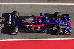 March 1, 2019 - Barcelona, Catalonia, Spain - Daniil Kvyat from Russia with 26 Scuderia Toro Rosso Honda in action during the Formula 1 2019 Pre-Season Tests at Circuit de Barcelona - Catalunya in Montmelo, Spain on March 1. (Credit Image: © Xavier Bonilla/NurPhoto via ZUMA Press)