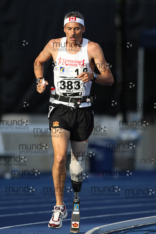 (Toronto, Ontario---27/06/09)   Richard Ball competing in  10000m final at the 2009 Canadian National Track and field Championships. Photograph copyright Sean Burges / Mundo Sport Images, 2009. www.mundosportimages.com / www.msievents.