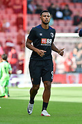 AFC Bournemouth Forward, Lys Mousset (9) during the Premier League match between Bournemouth and Leicester City at the Vitality Stadium, Bournemouth, England on 15 September 2018.