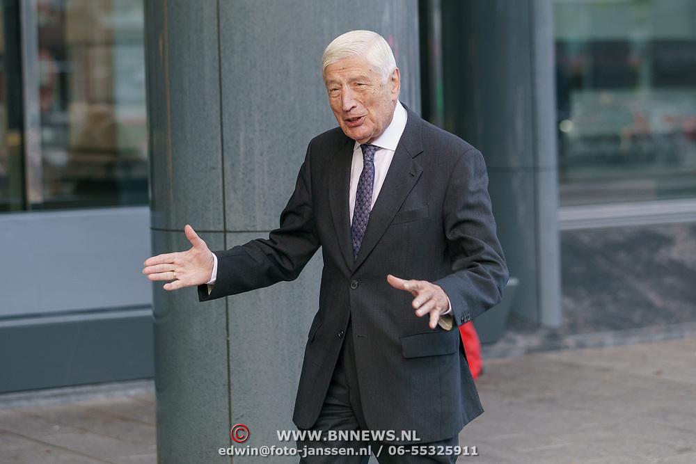 NLD/Amsterdam/20181027 - Herdenkingsdienst Wim Kok, Dries van Agt
