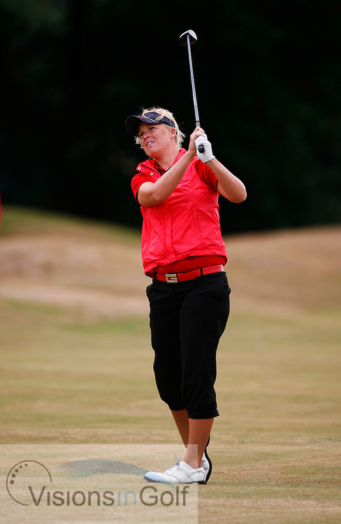 Amanda Moltke-Leth on the second day.<br /> Weetabix Womens British Open 2006, Royal Lytham St. Annes, 040806<br /> Picture Credit: Mark Newcombe / visionsingolf.com