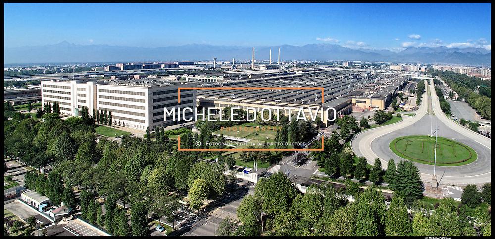 Stabilimento FIAT Mirafiori a Torino..Turin, Fiat Mirafiori Plant....