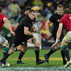 Brodie Retallick  during game 9 of the British and Irish Lions 2017 Tour of New Zealand, the second Test match between  The All Blacks and British and Irish Lions, Westpac Stadium, Wellington, Saturday 1st July 2017<br /> (Photo by Kevin Booth Steve Haag Sports)<br /> <br /> Images for social media must have consent from Steve Haag