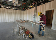 Construction at South Early College High School, March 24, 2016.