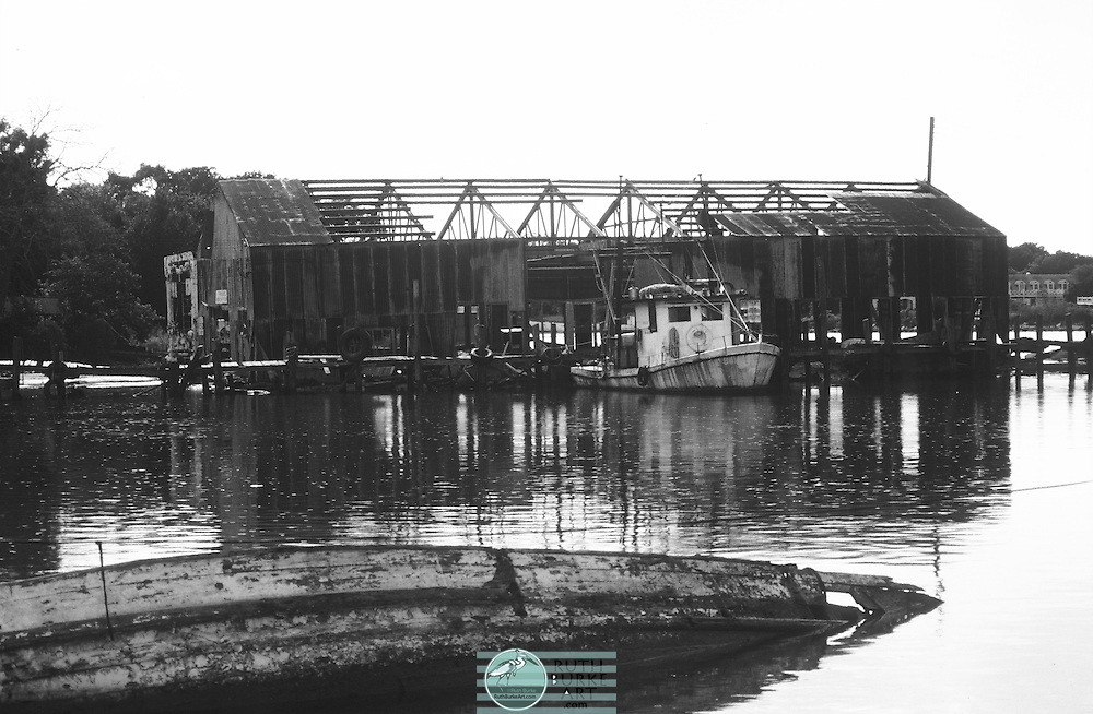 1979-3-Kemah Fishing Boat Harbor-in location of current Port-O-Fino Harbor