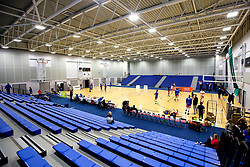 A general view of The Cheshire Oaks Arena, home to Cheshire Phoenix - Photo mandatory by-line: Robbie Stephenson/JMP - 31/03/2019 - BASKETBALL - Cheshire Oaks Arena - Ellesmere Port, England - Cheshire Phoenix v Bristol Flyers - British Basketball League Championship