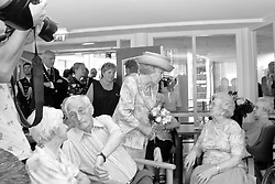 Reinaldahuis, Haarlem, NL - June 13, 2006; Queen Beatrix opens the new Reinaldahuis in the Schalkwijk section of Haarlem.<br />