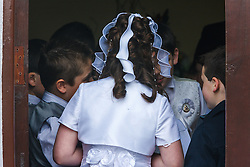 First Communion, Aghagower, County Mayo, Ireland