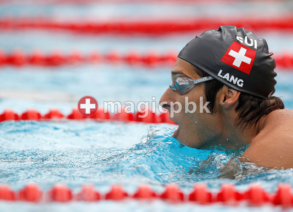 Flori LANG of Switzerland in action during a training session prior to the European Swimming Championship at the Hajos Alfred Swimming complex in Budapest, Hungary, Sunday, Aug. 8, 2010. (Photo by Patrick B. Kraemer / MAGICPBK)