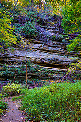11 October 2015:  Owl Canyon at Starved Rock State Park. Scenics from along the Illinois River Scenic Road and sites along the drive.  All images were between Ottawa and East Peoria.<br /> <br /> This image was produced in part utilizing High Dynamic Range (HDR) processes.  It should not be used editorially without being listed as an illustration or with a disclaimer.  It may or may not be an accurate representation of the scene as originally photographed and the finished image is the creation of the photographer.