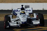 Sebastien Bourdais, Indy Grand Prix of Sonoma, Infineon Raceway, Sonoma, CA 08/26/12