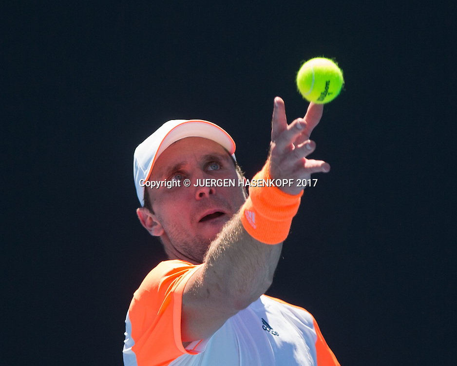 MISCHA ZVEREV (GER)<br /> <br /> Australian Open 2017 -  Melbourne  Park - Melbourne - Victoria - Australia  - 16/01/2017.