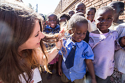 Visit to Namasimba Under 6 centre in Blantyre. Three-day trip to Malawi with the charity Mary's Meals, June 26-29. 2016.