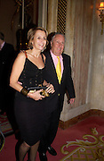 Sir frederick and Lady Forsyth, Annabel, An Unconventional Life. Memoirs of Lady Annable goildsmith. The Ritz. 10 March 2004. ONE TIME USE ONLY - DO NOT ARCHIVE  © Copyright Photograph by Dafydd Jones 66 Stockwell Park Rd. London SW9 0DA Tel 020 7733 0108 www.dafjones.com