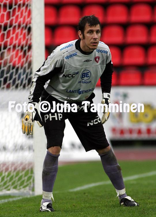28.05.2007, Ratina, Tampere, Finland..Veikkausliiga 2007 - Finnish League 2007.Tampere United - FC Lahti.Michal Slawuta - FC Lahti.©Juha Tamminen.....ARK:k