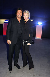 MISS TAMARA BECKWITH and MR GEORGE VERONI  at the launch party for 'The London Look - Fashion From Street to Catwalk' held at the Museum of London, London Wall, Londom EC2 on 28th October 2004<br />