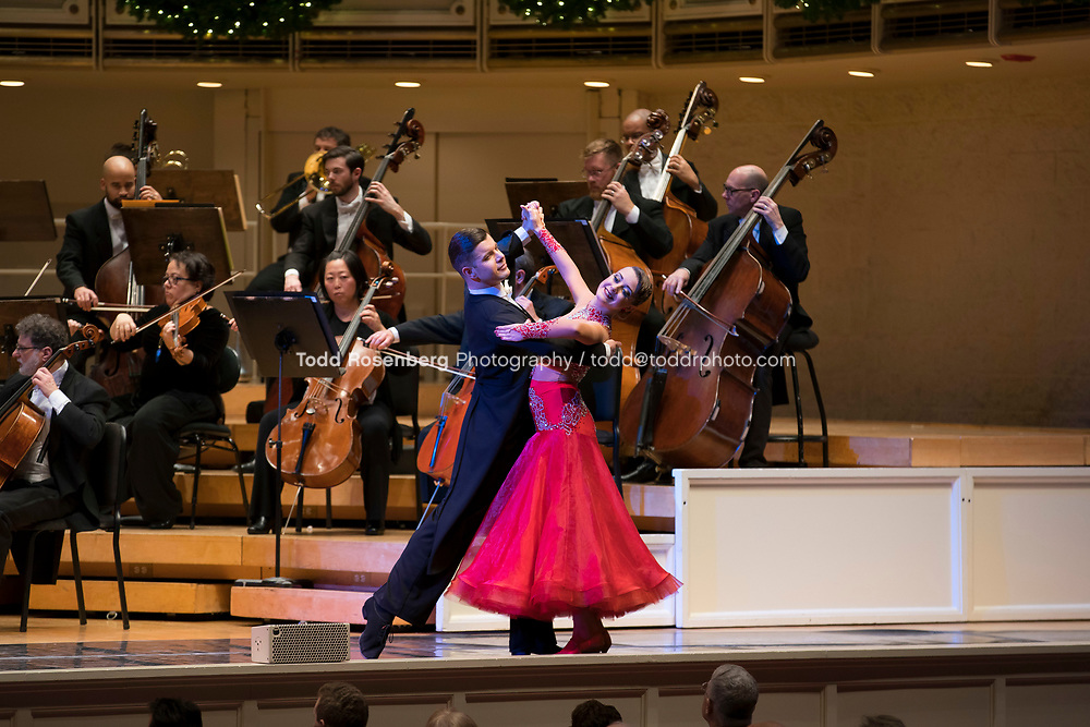 12/30/17 3:05:57 PM -- Chicago, IL, USA<br /> Attila Glatz Concert Productions' &quot;A Salute to Vienna&quot; at Orchestra Hall in Symphony Center. Featuring the Chicago Philharmonic <br /> <br /> &copy; Todd Rosenberg Photography 2017