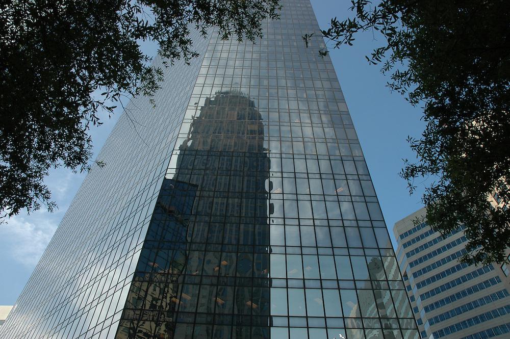 Charlotte, NC Skyscraper Reflection