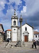 Portugal, the Beira Alta, Trancoso, Igreja de Sao Pedro church