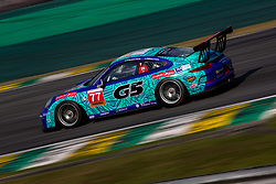 July 27, 2018 - Sao Paulo, Sao Paulo, Brazil - Car #77 in action during the free practice session for the 5th stage of the 2018 Brazilian Porsche GT3 Cup championship, which takes place on Saturday, 28 at Interlagos circuit in Sao Paulo, Brazil. (Credit Image: © Paulo Lopes via ZUMA Wire)