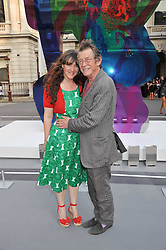 JOHN HURT and his wife ANWEN REES-MYERS at the Royal Academy of Arts Summer Exhibition Preview Party at Burlington House, Piccadilly, London on 2nd June 2011.