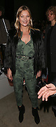 Kate Moss at Topshop Unique on day 3 of London Fashion Week February 15 2014.<br /> <br /> <br /> Photo by Ki Price