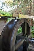Wasserrad, Mühlrad, Bayerischer Wald, Bayern, Deutschland | waterwheel, Bavarian Forest, Bavaria, Germany