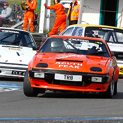 KNOCKHILL Scottish Motor Racing Club meeting...Christie Doran in his TR8 in the scottish classic sports and saloons championship,....(c) STEPHEN LAWSON | StockPix.eu